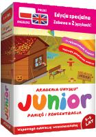 Edukacyjne gry dla dzieci Akademia Umysłu JUNIOR w języku polskim i angielskim to wyjątkowe prezenty na Dzień Dziecka